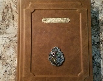 Harry Potter Custom Leather Bound Book