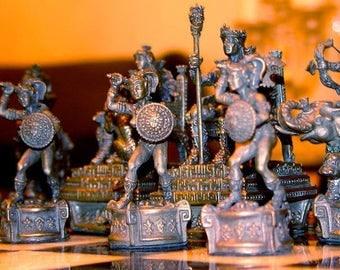 Tigrani AmazonSterling Silver Chess set