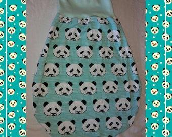 """Newborn bag """"Panda bear"""" 0 to about 3-4 months"""