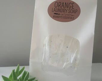 Essential Oil Laundry Soap