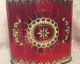 Beautiful Murray Allen Vintage Decorator Tin