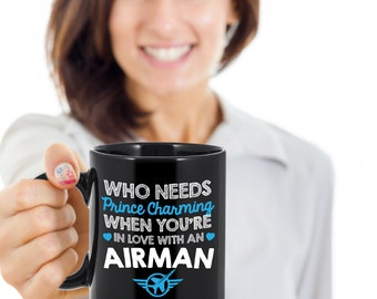 Military Mug,Military Gifts,Air Force Gifts,Military Girlfriend,Airforce Girlfriend,Airforce Wife,Military Wife