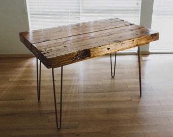 Handmade Reclaimed Wood Table