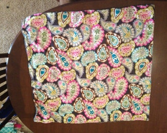 Small (40x55) toddler bed Minky and linen weighted blankets!