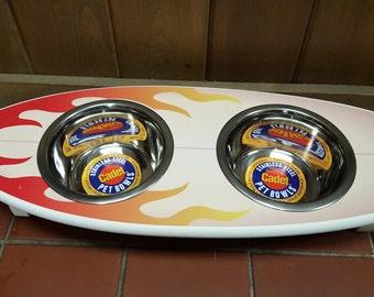 Surfboard Feeder - Flame