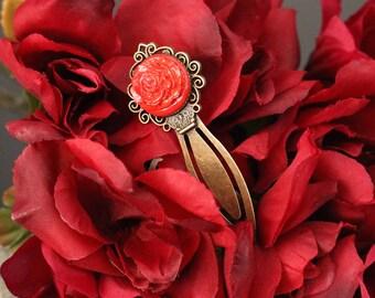Red Rose Bookmark