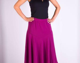 Womans skirt,Knee length skirt,Elastic skirt,Knitwear skirt,Lined skirt,Size 22UK