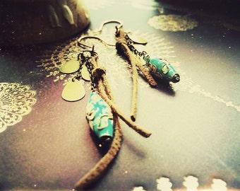 Water in the Desert Earrings