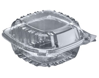 Food Container Clam Shell  (QTY 50)