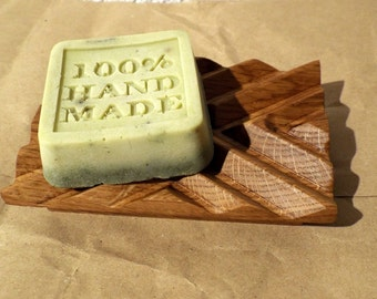 Wooden soap dish Exclusive - Oak (with a present)