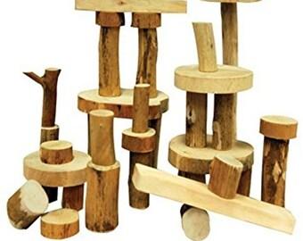 Tree Blocks,Building Blocks,Natural Blocks