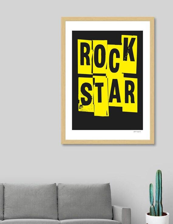 Rock Star | Digital Download | Fine Art Print