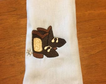 Boots Burp Cloth