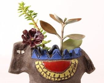 Handmade Succulent Ceramic Planter/ Large