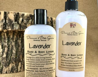 Lavender Hand & Body Lotion - Moisturizing Lotion - Handmade Lotion - Natural Lotion - Hand Lotion - Body Lotion - Lavender - Fresh - Clean