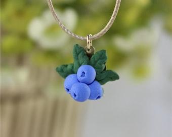 Blueberry Jewelry Set
