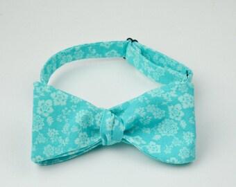 Bright Blue Bowtie