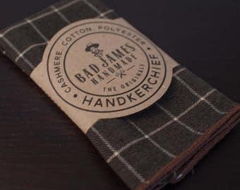 Lumberjack Handkerchief - Bad James - Mens Handkerchief - Woodman