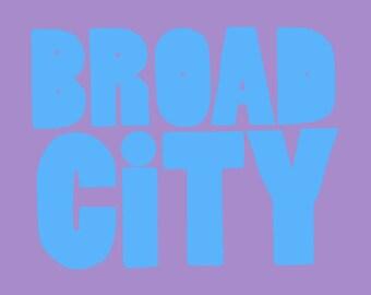 Broad City vinyl sticker