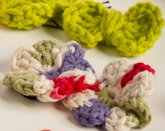 Crochet Hairbows