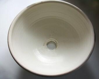 Handmade Stoneware Ceramic Handbasin Sink. (III)