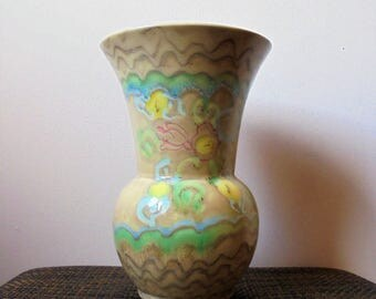Beswick Vase Shape Number 100 Designed by Mr Simcox.Art Deco Vase .1930's  ceramics.