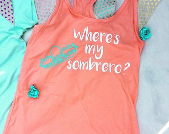 Where's my Sombrero? Fiesta Top