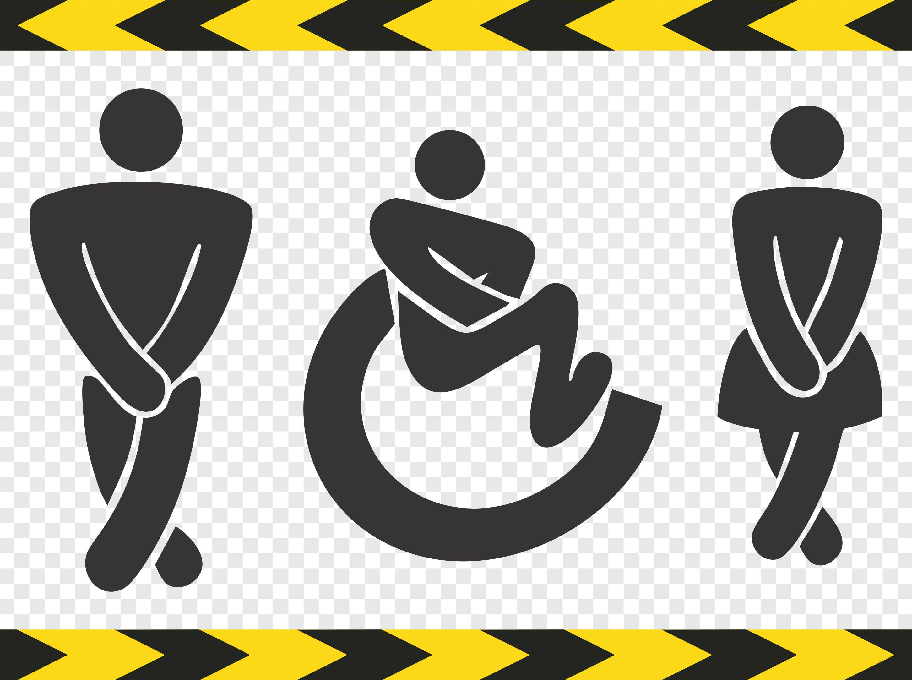 Symbol svg collection female symbol male symbol sign infinity rest room wc toilet sign svg clipart hendicap handicapped wheelchair disabled person decal dxf pdf png files biocorpaavc