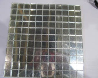 Mosaic mirror tiles