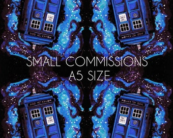 Small Commissions (A5 size)