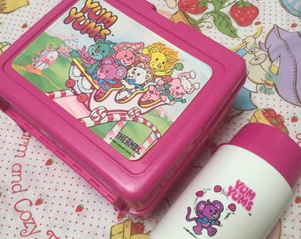 Yum Yums lunch box and thermos awesome 80s