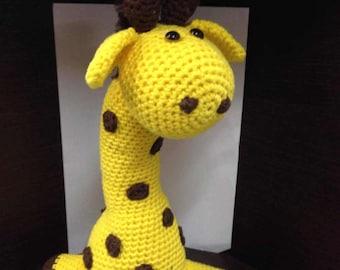 Handmade Yarn Giraffe