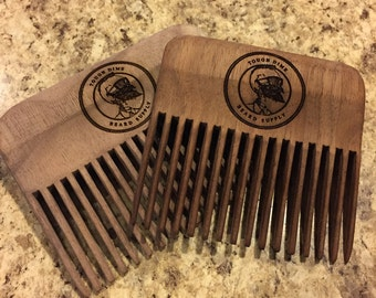 Tough Dime Beard Comb (MAIL DELIVER ONLY)
