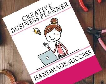Creative Business Planner: Handmade Success