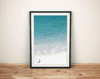 Beach Print, Summer Print, Beach Poster, Summer Decor, Coastal Photo, Coastal Wall Decor, Summer Art, Holidays Print, Peace and Quiet Poster