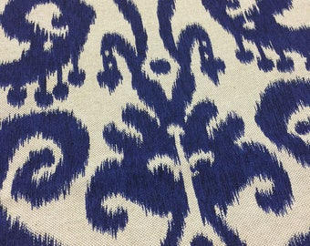 Ikat pillow cover 18x18 with zipper bottom
