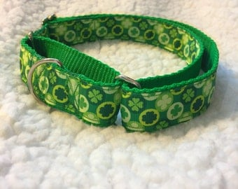 Luck of the Irish Martingale Collar