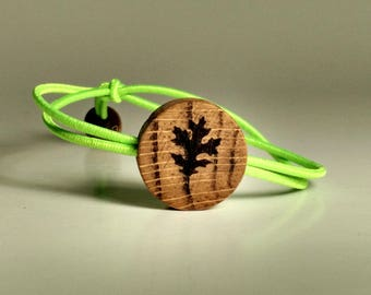Oak Leaf  Bracelet - Bungee