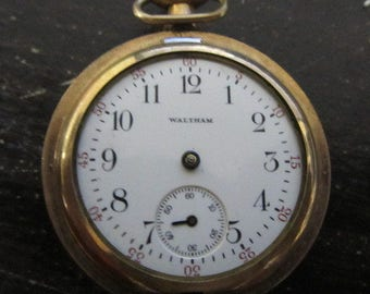 Waltham Pocket Watch For Parts