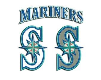 Mariners embroidery design - Applique - Machine embroidery design