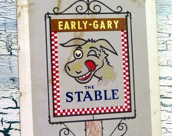 Early Gary The Stable Restaurant Menu Memphis Tennessee Admiral Benbow Inn