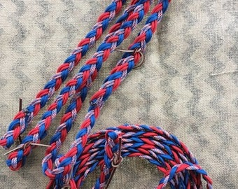 SALE HORSE HEADSTALLS w/ paracord reins!  25% off, in stock and ready to ship!!