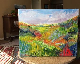 Original Oil on Canvas 8 x 10 inch