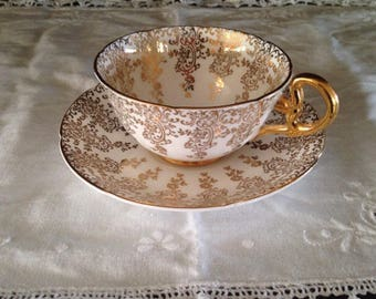 Variety of Tea cups and saucers
