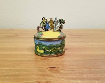 Ardleigh Elliott 1995 We're Off To See The Wizard Wizard of Oz Music Box