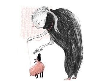 Wool Mama Poster