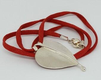 Valentines Heart Pendant Necklace