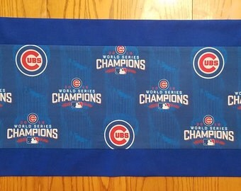 LIMITED EDITION - Chicago Cubs 2016 World Series Champions Tablerunner