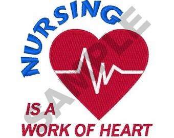 Nursing - Machine Embroidery Design