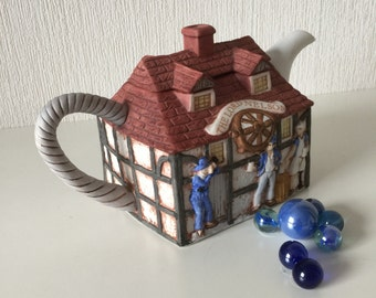 Lovely Teapot, The Lord Nelson Pub by Christopher Wren for Staffordshire Tableware